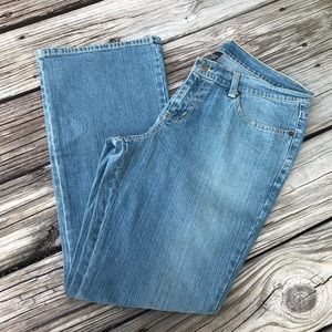 NY JEANS Women's Size 12 Light Wash Jeans